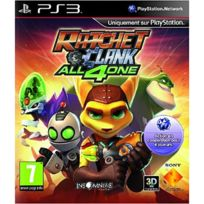 Playstation 3 - Ratchet et Clank All 4 One Ps3