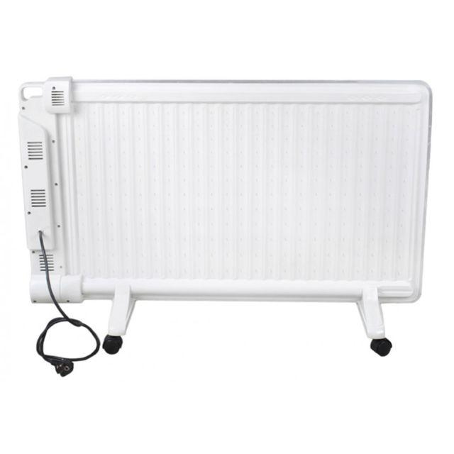 Kaminer radiateur lectrique bain d 39 huile 2000w avec humidificateur blanc pas cher achat - Humidificateur de radiateur ...
