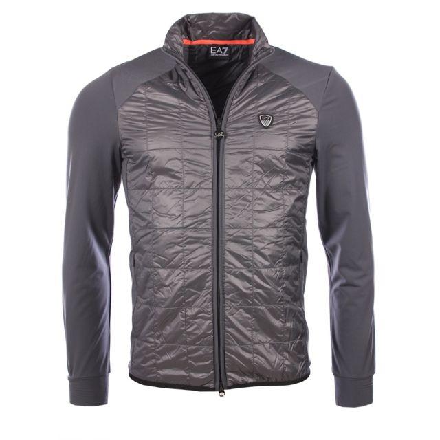Armani - Ea7 homme - Veste Ea7 3YPB07 Pn34Z gris - XS - pas cher Achat    Vente Blouson homme - RueDuCommerce ace4c830321