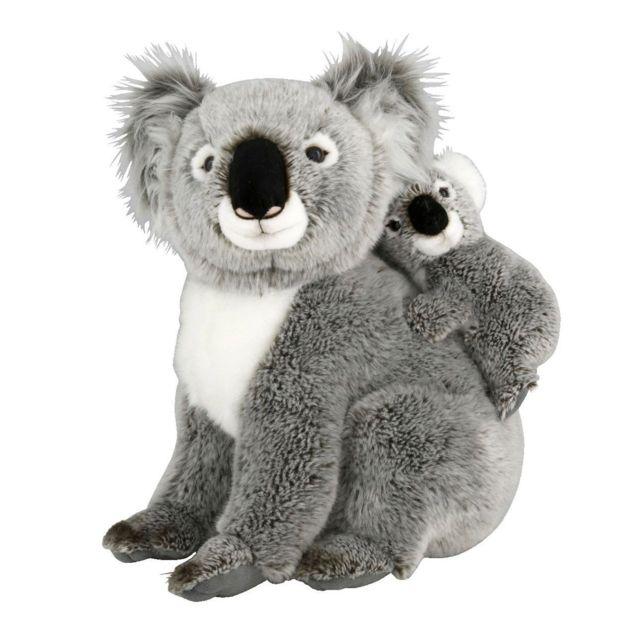 Soft Friends - Peluche Koala 35 cm et son bébé