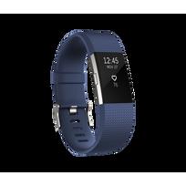 Charge 2 Argent - Bracelet Bleu Taille L