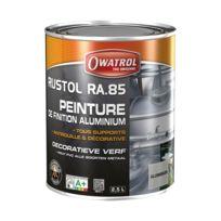 Owatrol - Peinture de finition aluminium - Ra 85 - 2.5 L