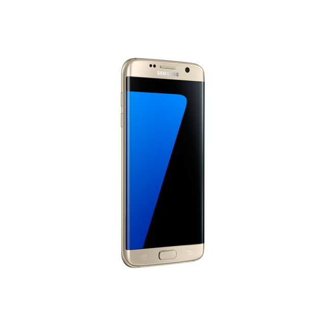 Samsung - Galaxy S7 Edge - Or