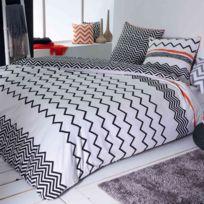 FUTURE HOME - Parure de lit 100% polyester REGLISSE