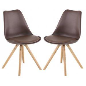 id'clik - chaise design cross taupe - pas cher achat / vente ... - Chaise Design Eames Pas Cher