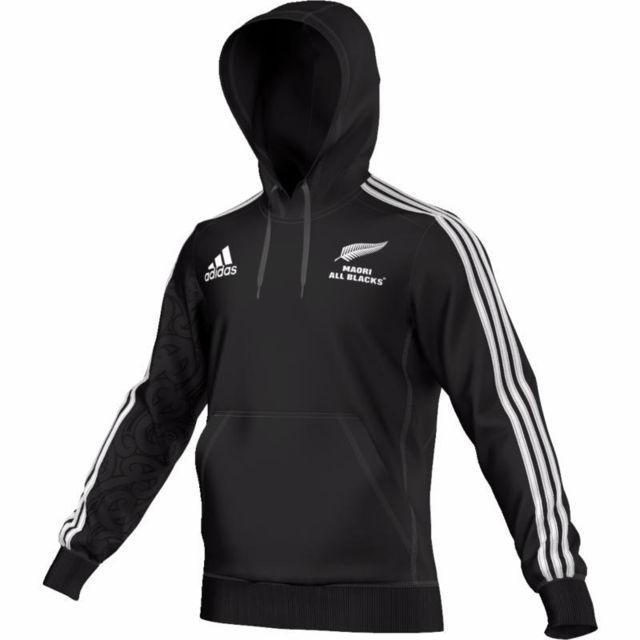 Adidas Sweat Capuche All Blacks Maori Noir taille : Xxxl