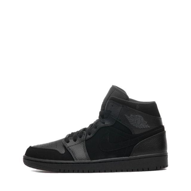info for b5d50 e301d Nike - Basket Jordan 1 Mid - 554724-064 - pas cher Achat   Vente Baskets  homme - RueDuCommerce