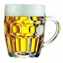 Arcoroc - Verre à bière - chope à anse 56cl - Lot de 4 - Britannia