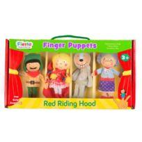 Fiesta - Crafts Collection Marionnettes A Doigt Coffret Chaperon Rouge