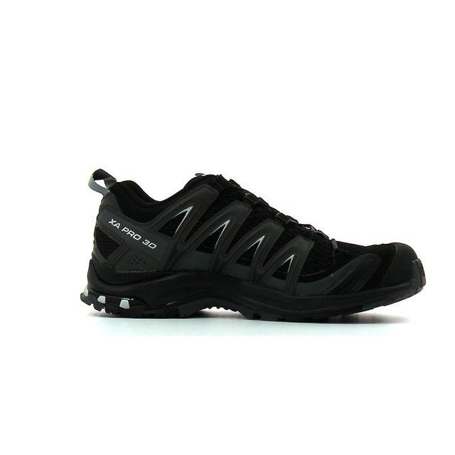 Salomon - Chaussure de randonnée Xa Pro 3D M Noir