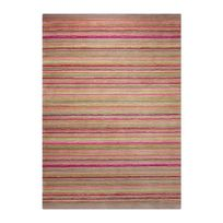 Esprit - Tapis Samba Stripes par Home - Couleur - Multicolor, Taille - 140 / 200 cm