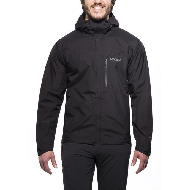 Marmot - Minimalist - Veste imperméable homme - noir - pas cher Achat    Vente Coupe-vent, vestes - RueDuCommerce ba2e5c4e9078