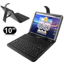 Yonis - Housse clavier universelle 10 ou 10.1 pouces micro Usb support
