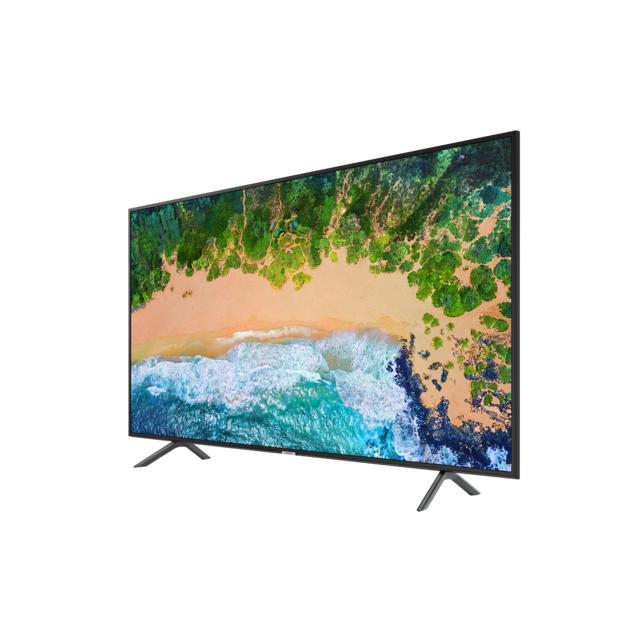 """Samsung Tv Led 4K Uhd - 58"""" 147 cm Ue58NU7105KXXC - Noir Ecran 58"""" ( 147 cm ) - Résolution 3840 x 2160 - Tuner : Dvb-t2C - Puissance sonore : 20 W - Smart Tv - Processeur : Quad-Core - Wifi intégré - Hdmi x 3 - Usb x 2 - Ethernet - Tnt/Câble."""