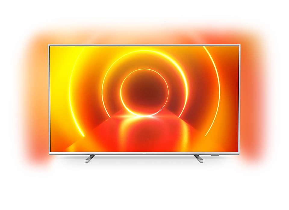 Téléviseur Smart TV 4K UHD LED