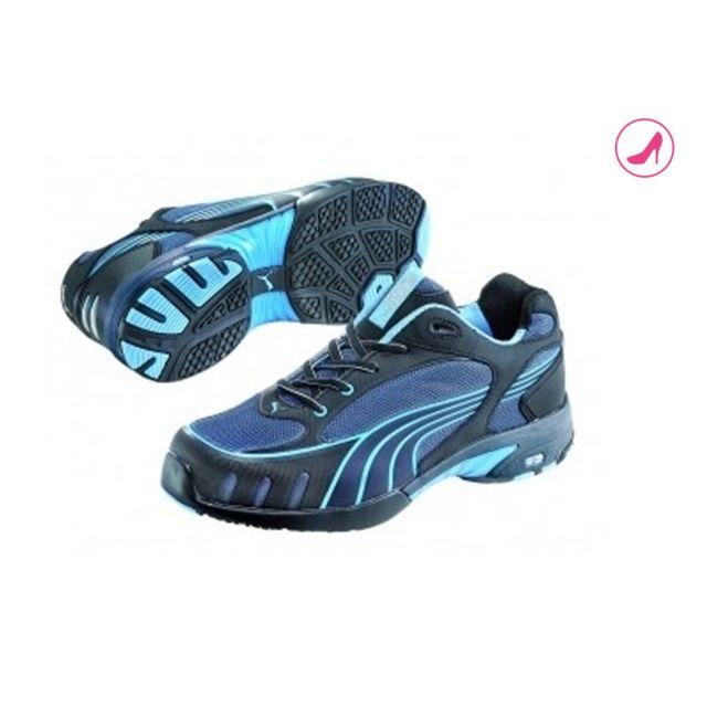 Puma - Chaussures de sécurité femme Fuse Motion Blue S1 Pointure 40 PUMA  64282-40 be6ee942cf69