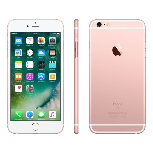 apple iphone 6s 32 go or rose reconditionn pas cher. Black Bedroom Furniture Sets. Home Design Ideas