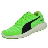 Puma - Ignite Ultimate Powercool Chaussures de Course Running Sneakers Homme  Vert