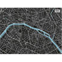 CONTENTO - Set de table en vinyle Plan de Paris