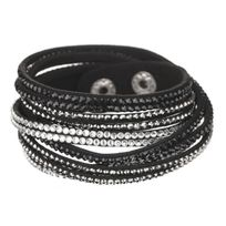 FR , Bracelet Femme Synthétique et Cristaux De Swarovski , Wrg249N87Cr