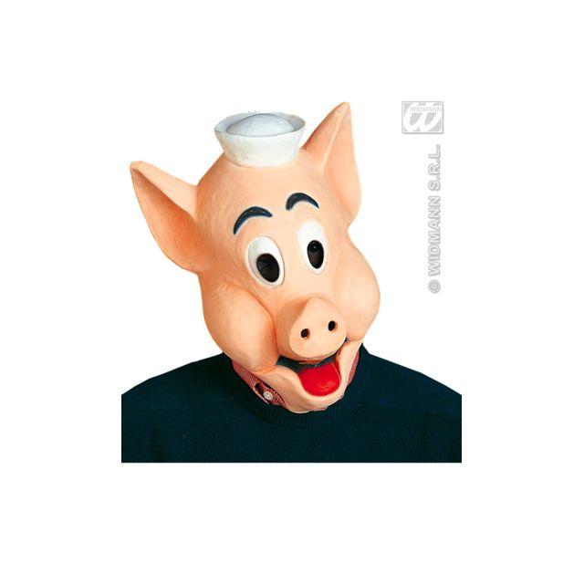 Widmann Demi-Masque Cochon Adulte