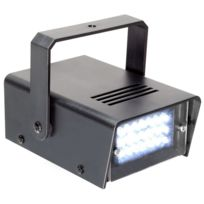 Beamz - Mini stroboscope 24 x Led 10W arceau inclus