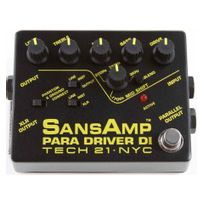 Tech21 - Tech 21 SansAmp Para Driver Di - préampli guitare
