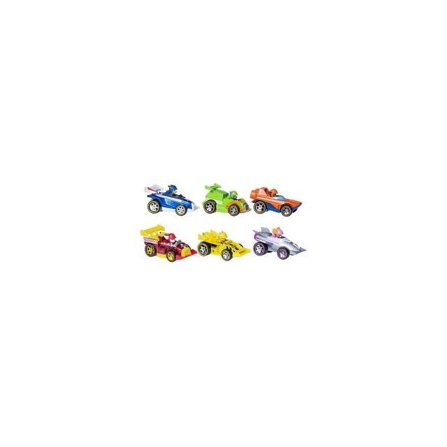 Spin Master Pack de 6 véhicules métal Ready Race Rescue Pat'Patrouille