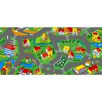 Bebegavroche - Tapis circuit Little Village -tapis : 95 x 200 cm
