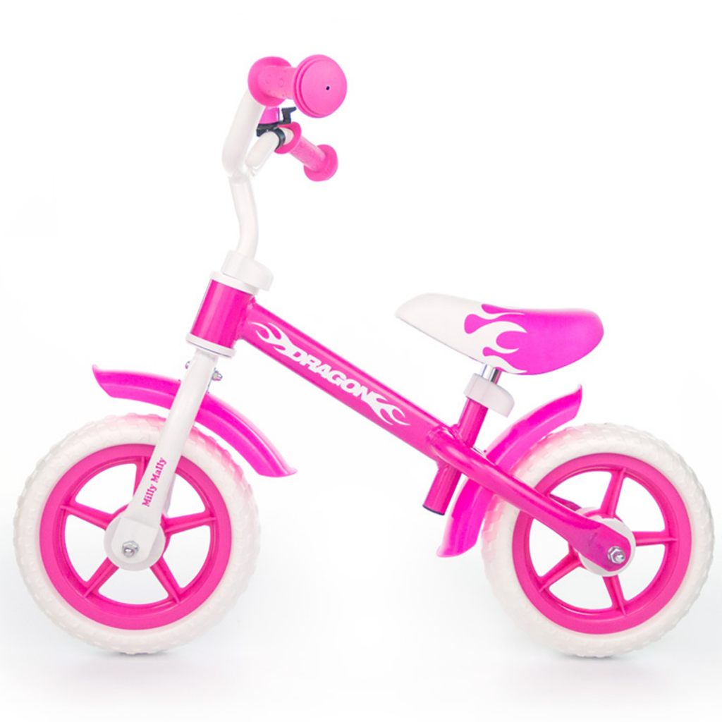 Milly Mally - Vélo d'enfants Dragon Rose
