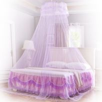 alpexe moustiquaire ciel de lit baldaquin violet - Moustiquaire De Lit