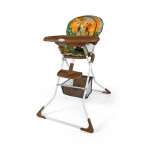 milly mally chaise haute volutive pliante compacte enfant b b 6m 3ans mini jungle brune. Black Bedroom Furniture Sets. Home Design Ideas