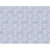 Graham And Brown - Papier peint 100% intissé motif fleur feu d'artifice bleu 10.05x0.52m Cupi
