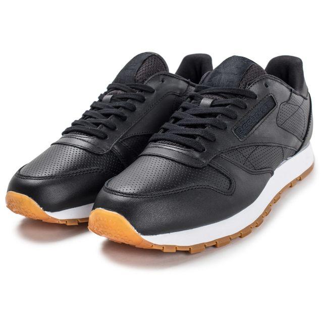 Reebok Classic Leather Pg Noire pas cher Achat Vente