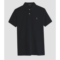 Ralph Lauren - Polo Custom-Fit noir coton pima