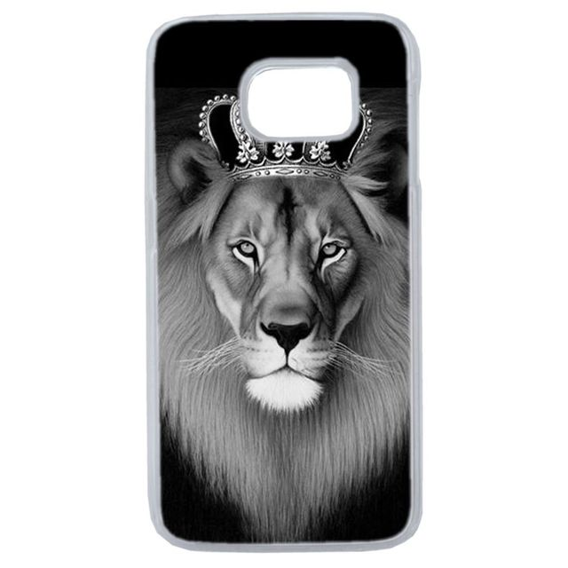 coque samsung galaxy s7 edge roi lion
