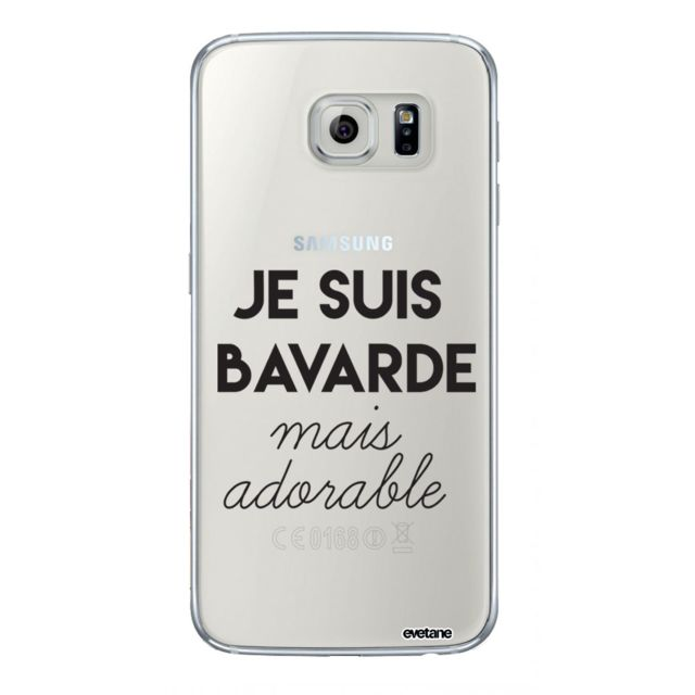 coque galaxy s6 edge drole