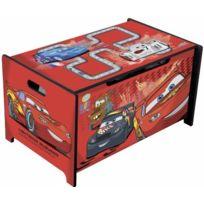 Delta Children - Cars Coffre a jouet rangement en bois