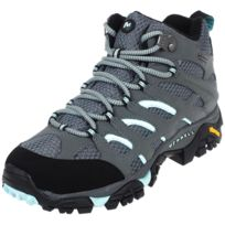 Merrell - Chaussures marche randonnées Moab mid gtx sedona sage Gris 12563