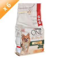 Purina One - My Dog Is Active, riche en Poulet, avec du riz - 1,5 Kg x6 Pour petit chien
