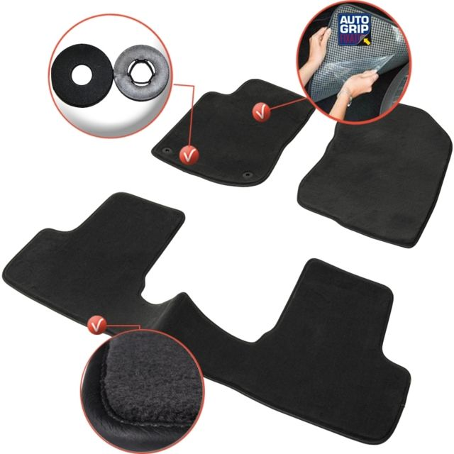 dbs tapis auto voiture sur mesure pour peugeot 2008 de 03 2013 2018 3 pi ces gamme. Black Bedroom Furniture Sets. Home Design Ideas