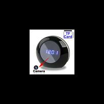 Auto-hightech - Caméra espion radio réveil miroir détecteur de mouvement télécommande