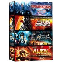 Antartic - Invasions - Coffret 4 films : Terminators + Mission Commando + Les mondes parallèles + Alien Express