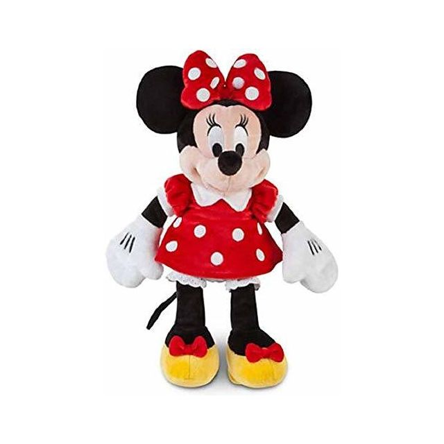 Minnie Mouse Disney Plush 12 in A Red Dress