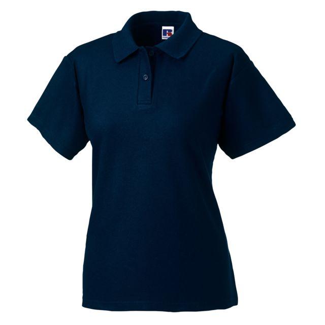 GENERIC Polo à manches courtes Jerzees Colours pour femme M, Bleu ciel Utbc565