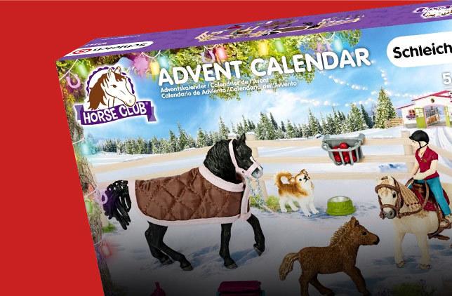 Boutique calendrier avent chevaux