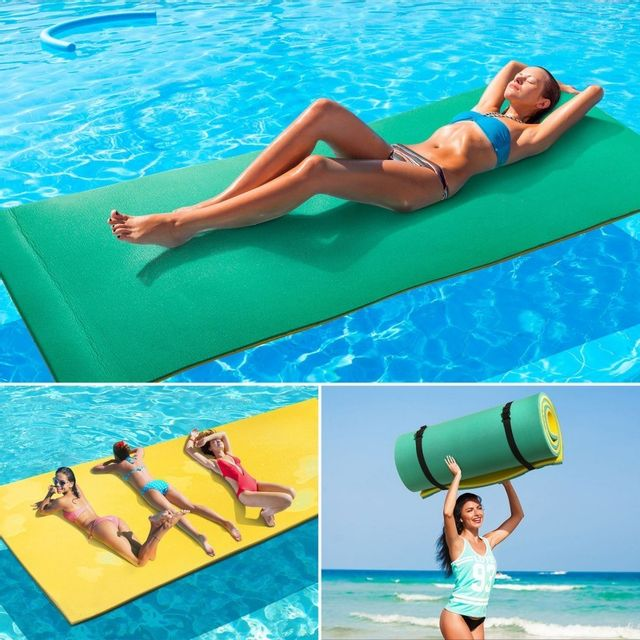 Jeux piscines tapis for Tapis mousse piscine