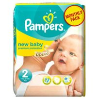 Pampers - New Baby Taille 2, 3 a 6kg 240 couches