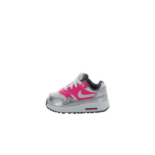 best service 06712 e14da Nike - Basket Air Max 1 Bébé TD 631888-108 - pas cher Achat  Vente  Chaussures, chaussons - RueDuCommerce