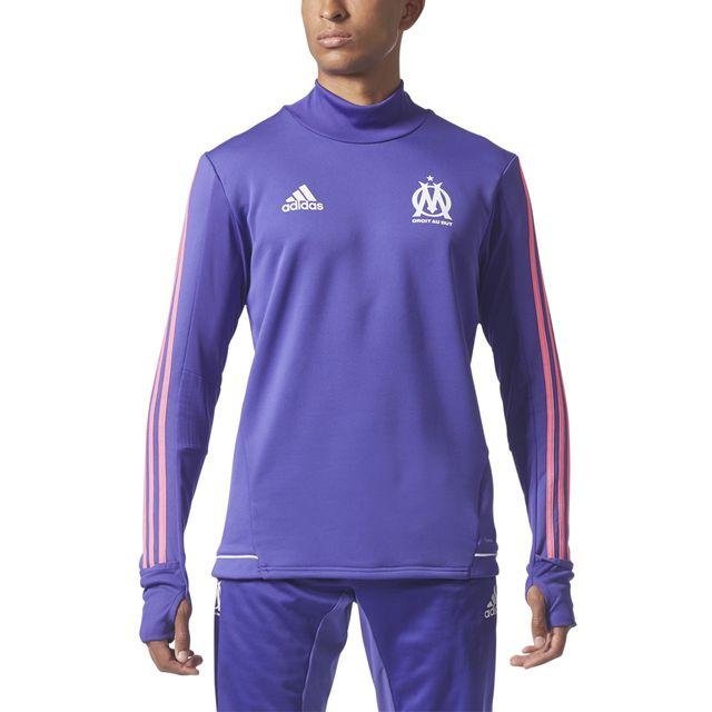 ceb981ca89 Adidas performance - Sweat Om Adidas Performance Olympique de marseille  Third Training Top